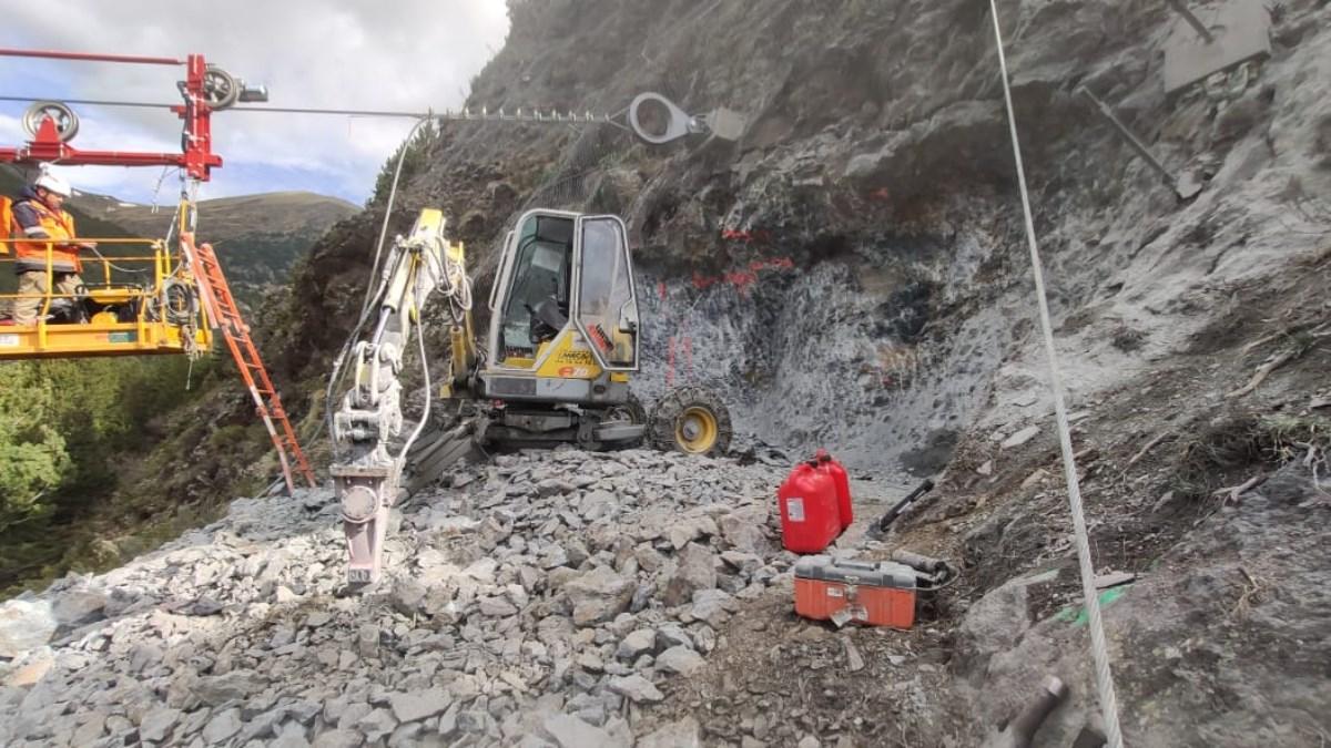 Servei excavadora Aranya